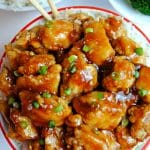 gluten-free apricot chicken Pinterest pin 2