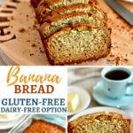 Gluten-Free Banana Bread Pinterest pin 3