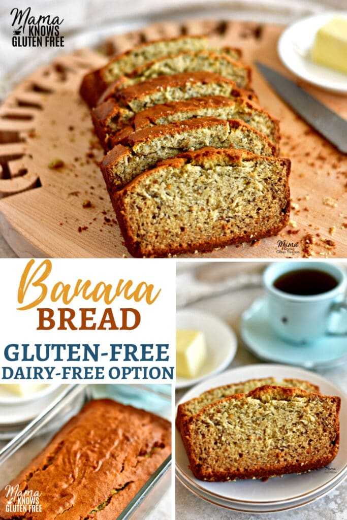 Gluten-Free Banana Bread Pinterest pin 3