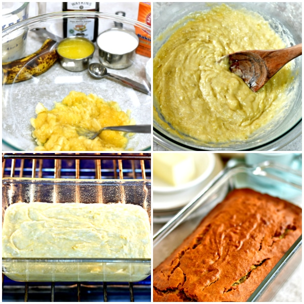 easy gluten-free banana bread recipe steps