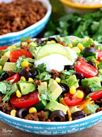 gluten-free burrito bowl