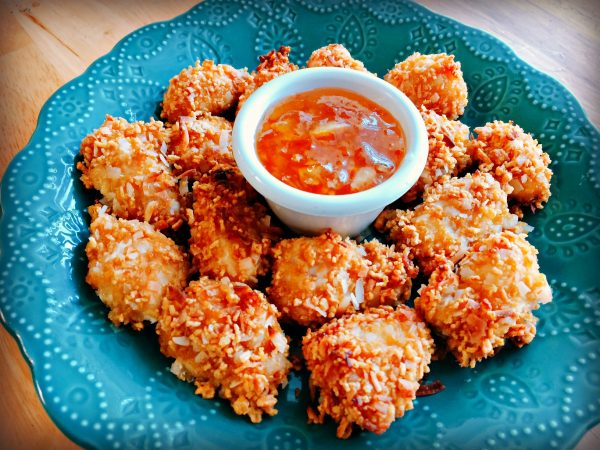 Gluten-Free Crunchy Coconut Chicken Bites