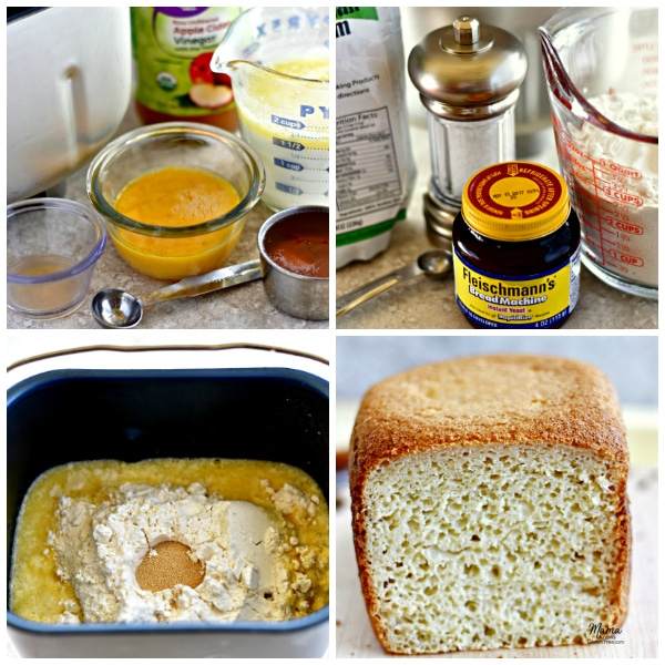 Gluten-Free Homemade Bread recipe steps