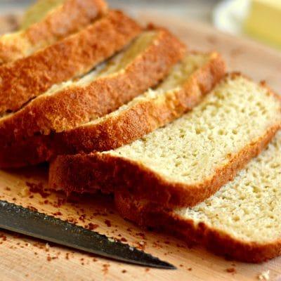 Homemade Gluten-Free Bread {Dairy-Free Option}
