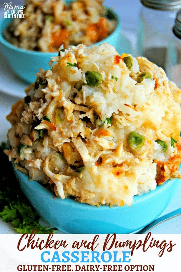 gluten-free chicken and dumplings casserole