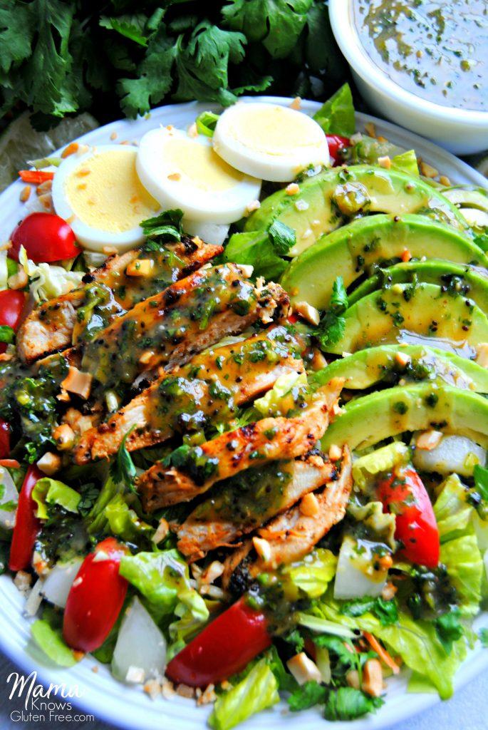 Grilled Chimichurri Salad