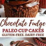 Paleo Chocolate Fudge Cupcakes