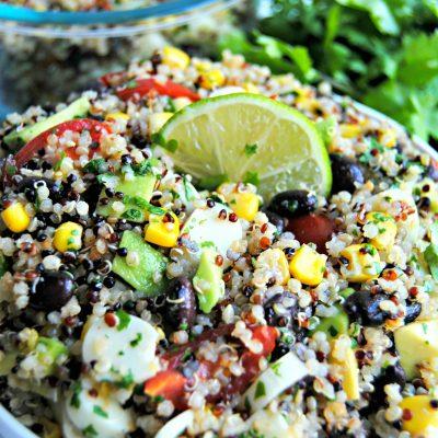 Southwest Quinoa Salad {Gluten-Free}