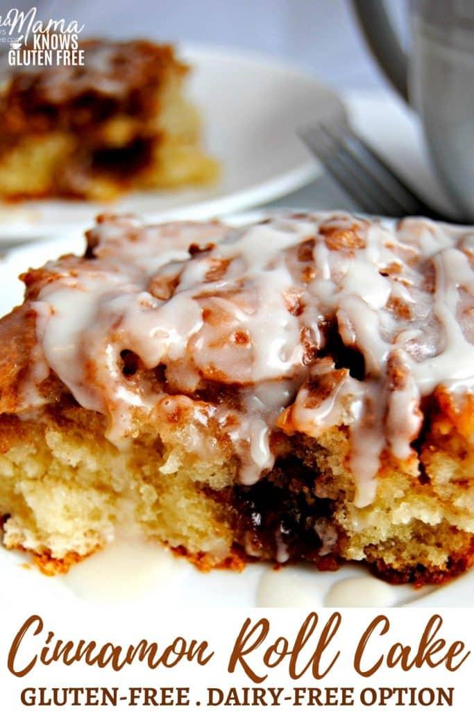 gluten-free cinnamon roll cake Pintertest pin 4