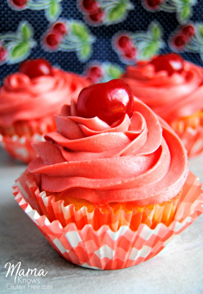 Gluten-free pineapple upside down cupcakes