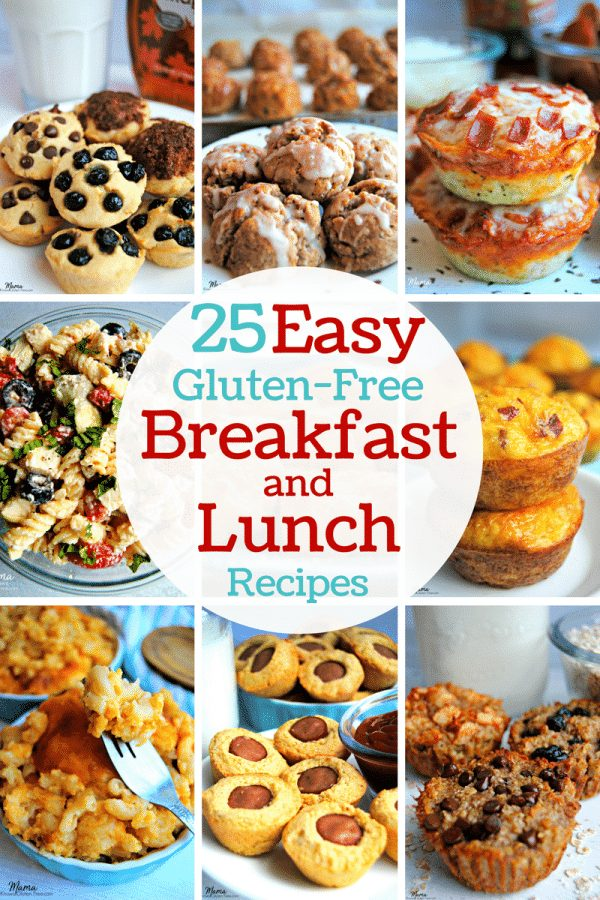 25 Easy Gluten-Free Breakfast and Lunch Recipes | www.mamaknowsglutenfree.com
