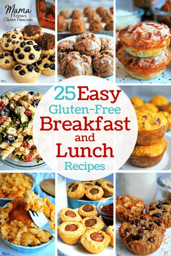 25 Easy Gluten-Free Breakfast and Lunch Recipes