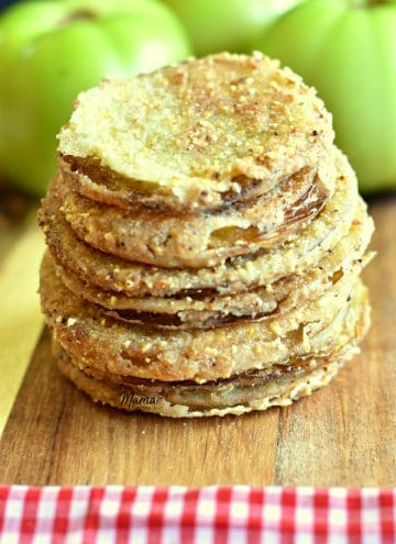 Gluten-Free Southern Fried Green Tomatoes {Dairy-Free Option}