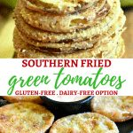 gluten-free fried green tomatoes