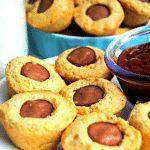 gluten-free mini corn dogs