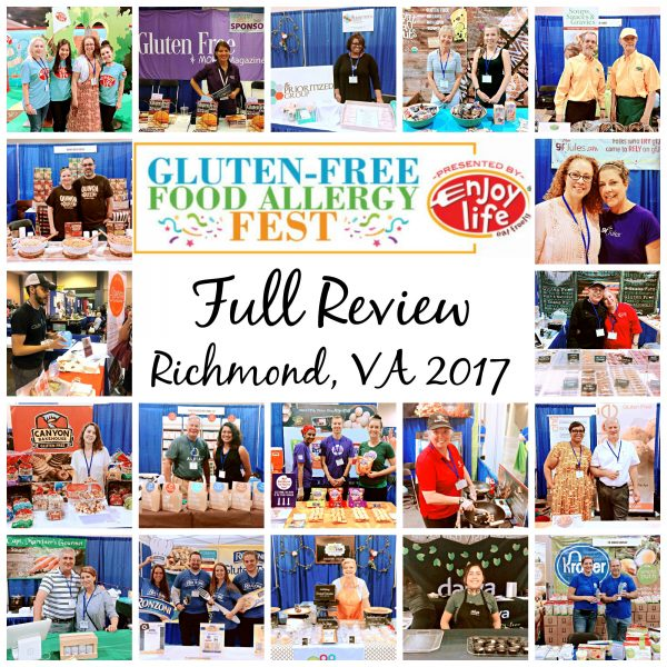 Gluten_Free Food Allergy Fest Review 2017