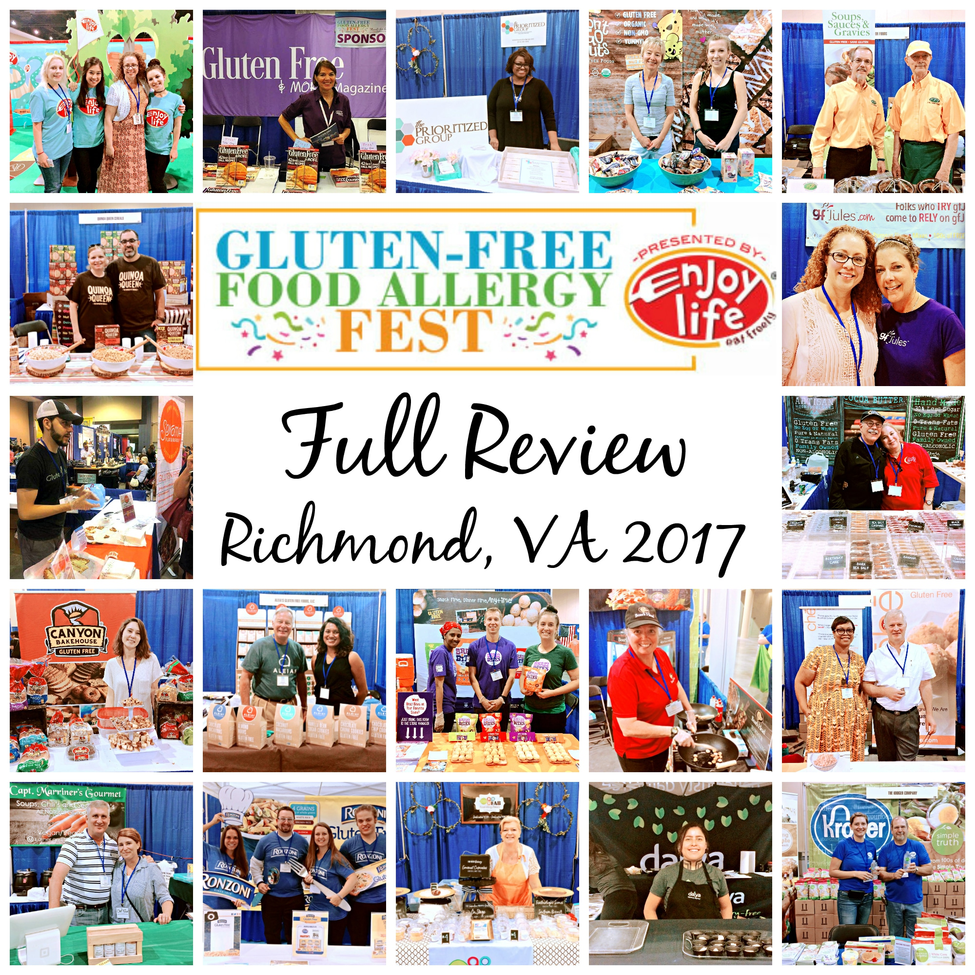 Gluten-Free Food Allergy Fest Review 2017