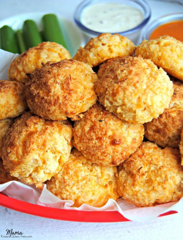 Buffalo Chicken Bites {Gluten-Free}