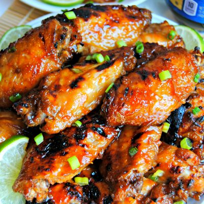 Gluten-Free Sticky Asian Wings