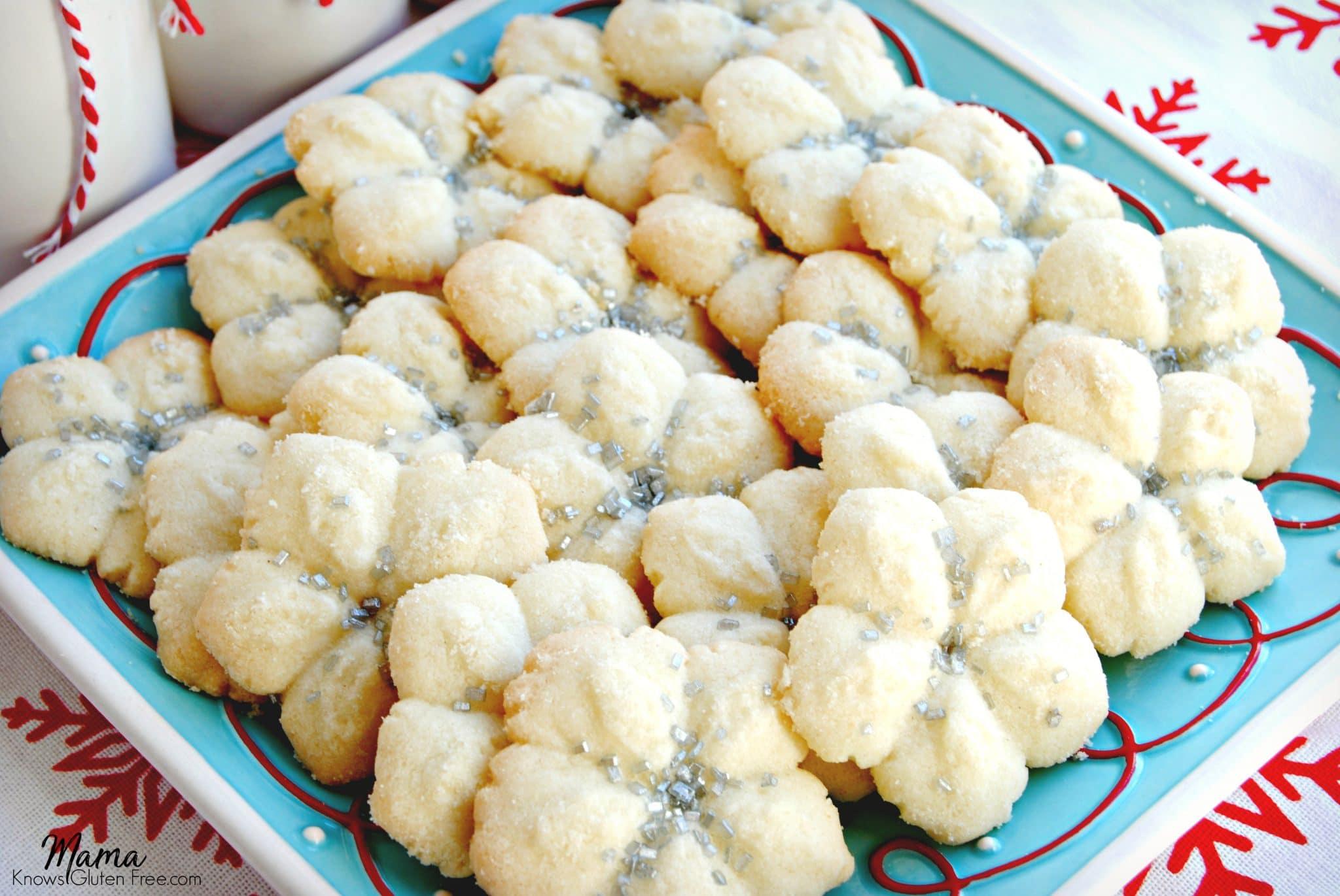 Gluten-Free Almond Spritz Cookies