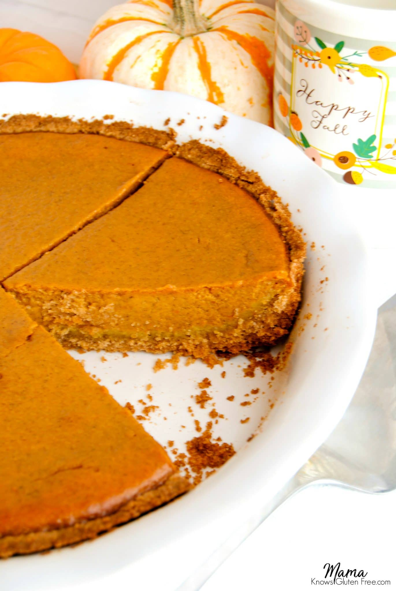 easy gluten-free-pumpkin pie