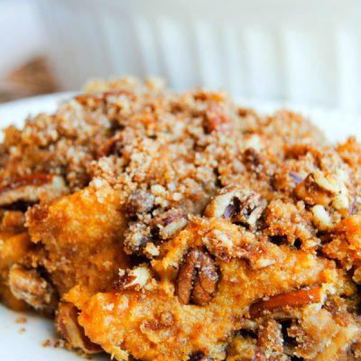 Paleo Sweet Potato Casserole {Gluten-Free, Dairy-Free}