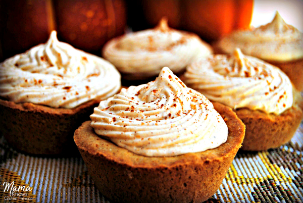 Gluten-Free Pumpkin Cheesecake Graham Cookie Cups