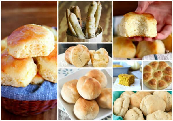 8 different gluten-free roll recipes