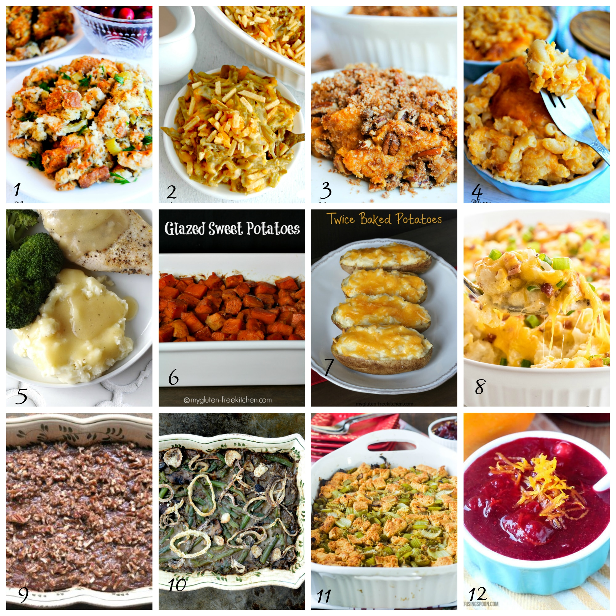 Gluten-Free Thanksgiving Side Dishes