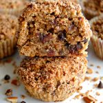 Paleo Chocolate Chip Pecan Pie Muffins