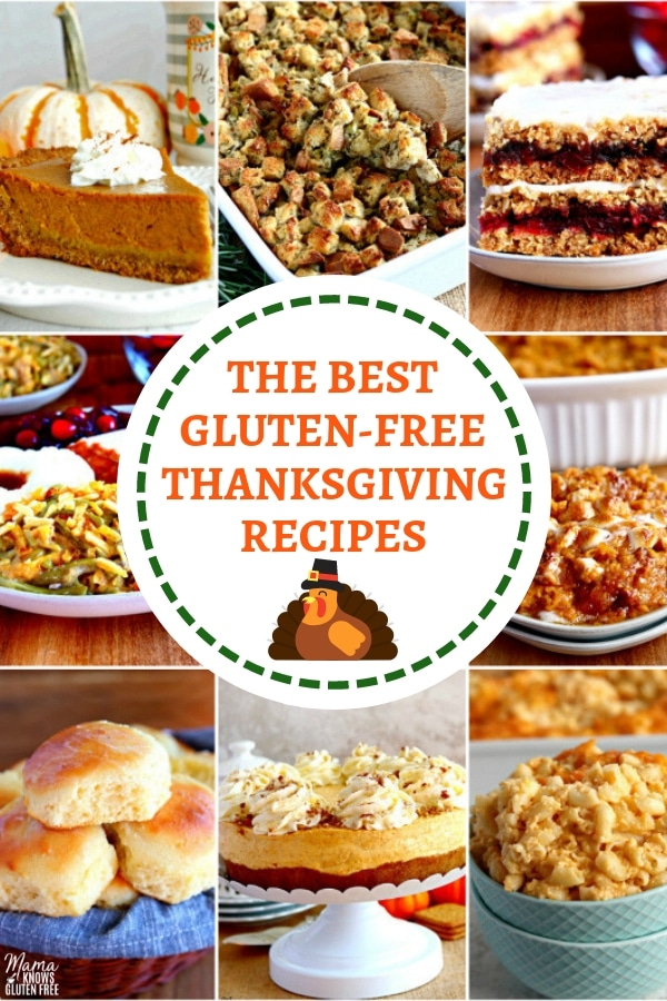 a collection of the best gluten-free Thanksgiving recipes