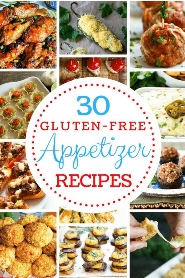 30 Gluten-Free Appetizer Recipe