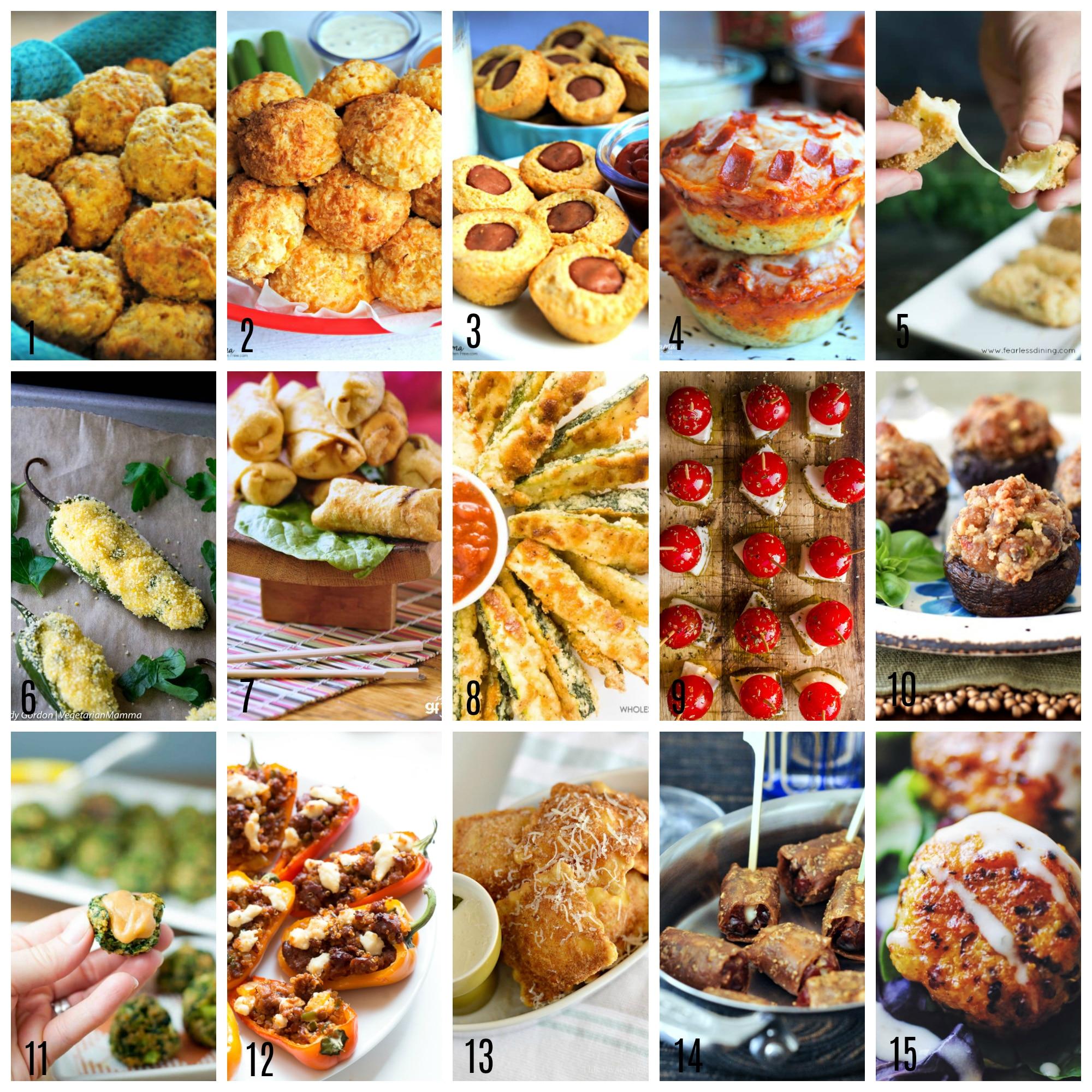 Gluten-Free Appetizer Bites