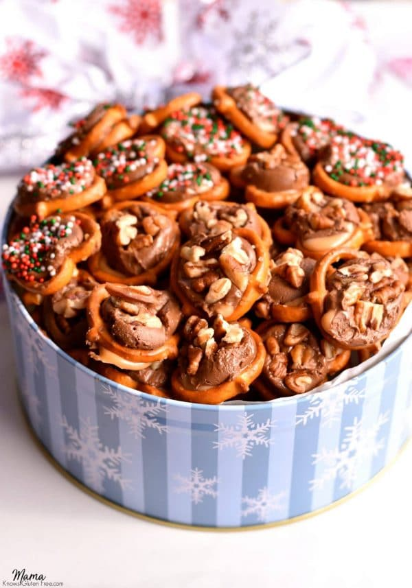 Easy Gluten-Free Caramel Pretzel Delights