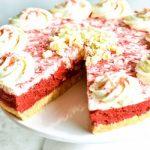 Gluten Free Red Velvet No Bake Cheescake