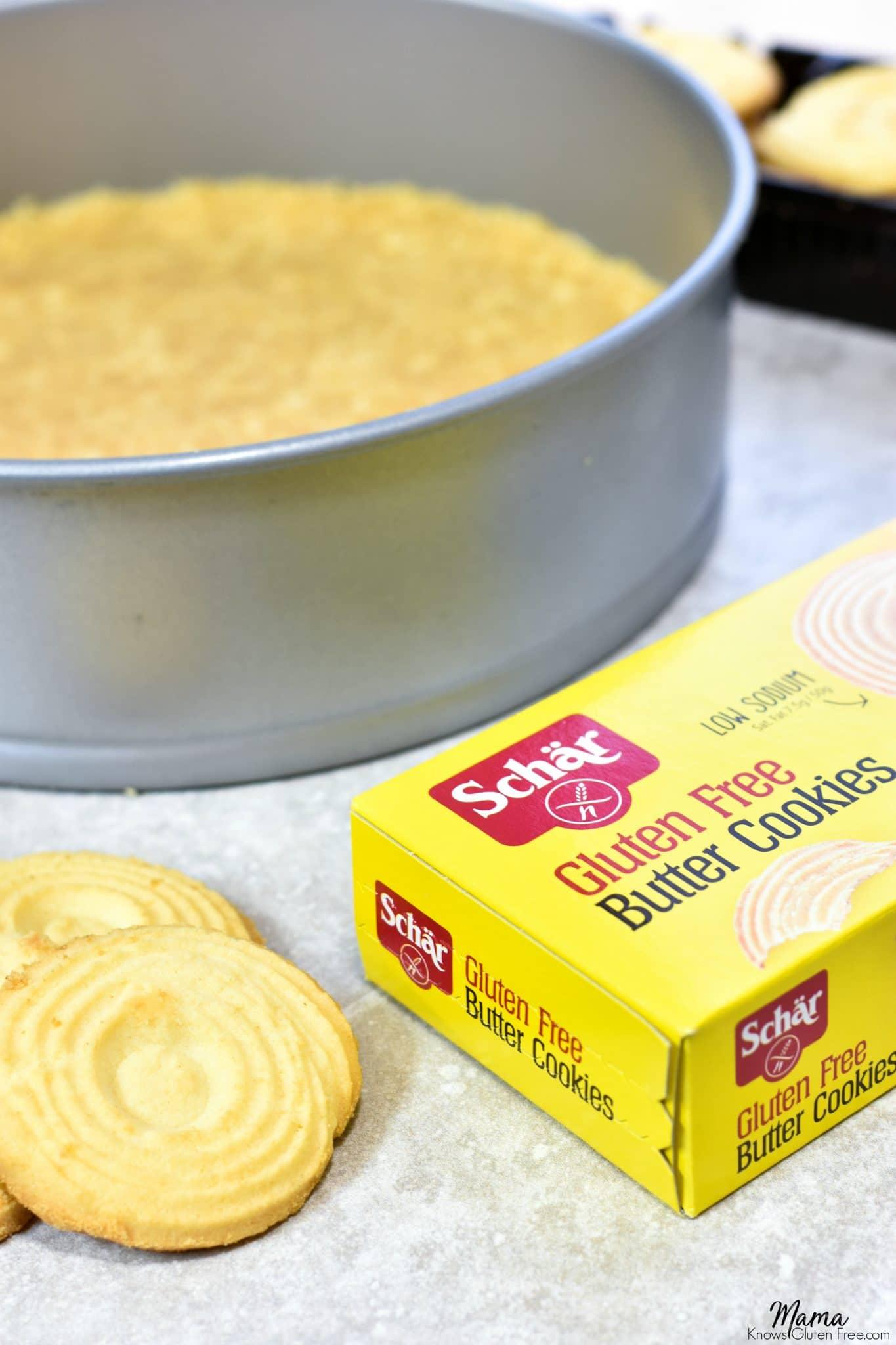 Gluten-Free Schar Butter Cookie Crust