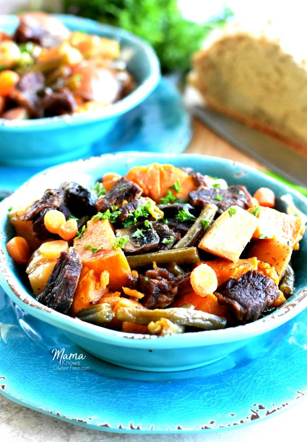 Easy Beef Stew {Instant Pot, Slow-Cooker, Gluten-Free, Paleo, AIP, Whole30}