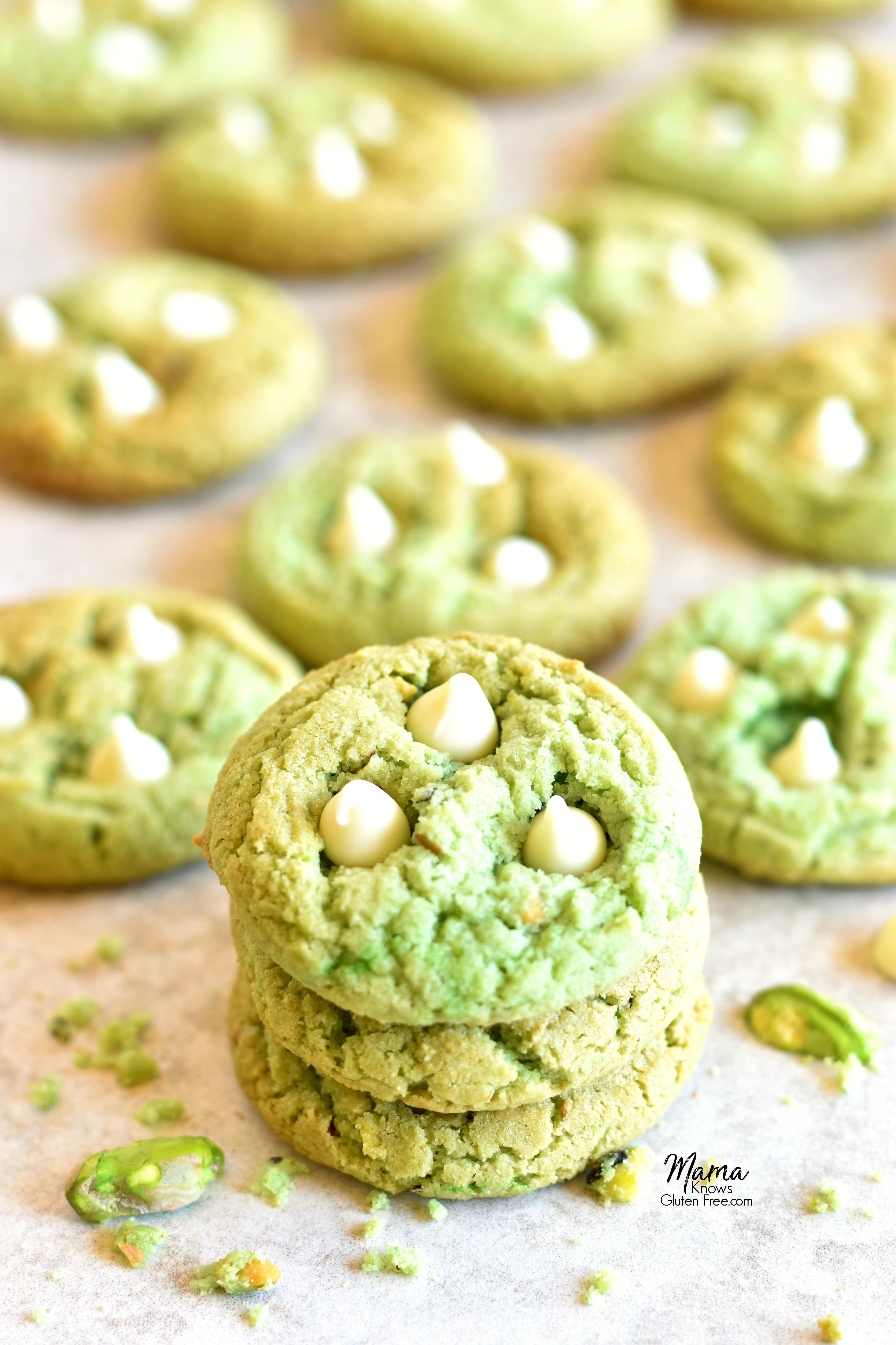 gluten-free pistachio cookies