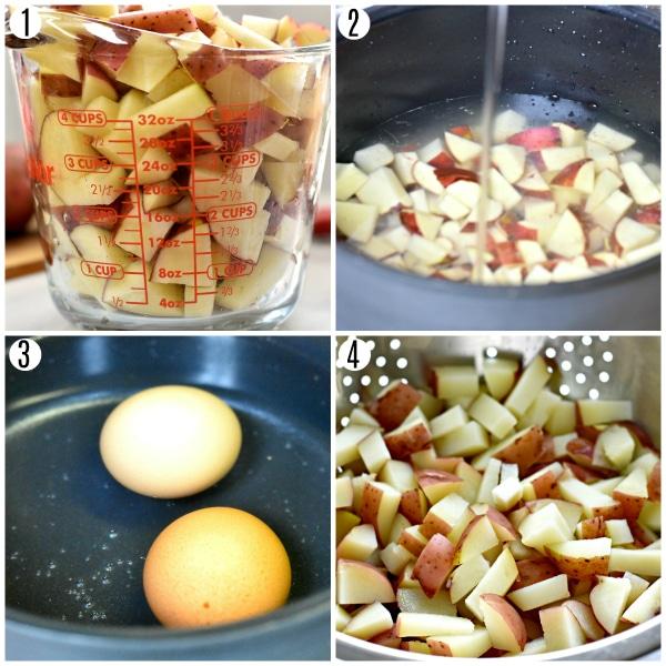 loaded bacon ranch recipe steps 1-4