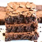 gluten-free brownies Pinterest pin 2B