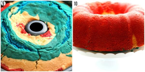 gluten-free firecracker almond bundt cake steps 9-10