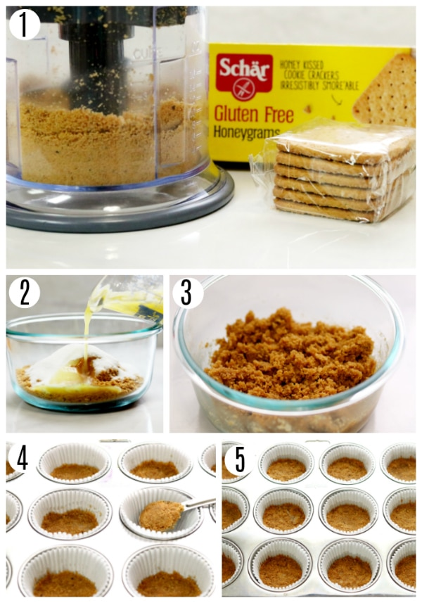 gluten-free s'mores cupcakes recipe steps