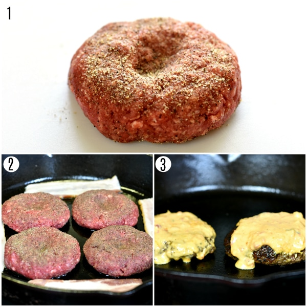 Southern Style Burger recipe steps
