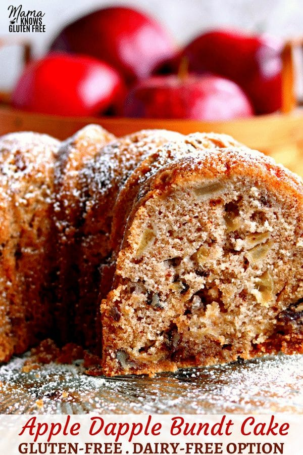 gluten-free apple dapple cake