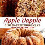 gluten-free apple dapple bundt cake