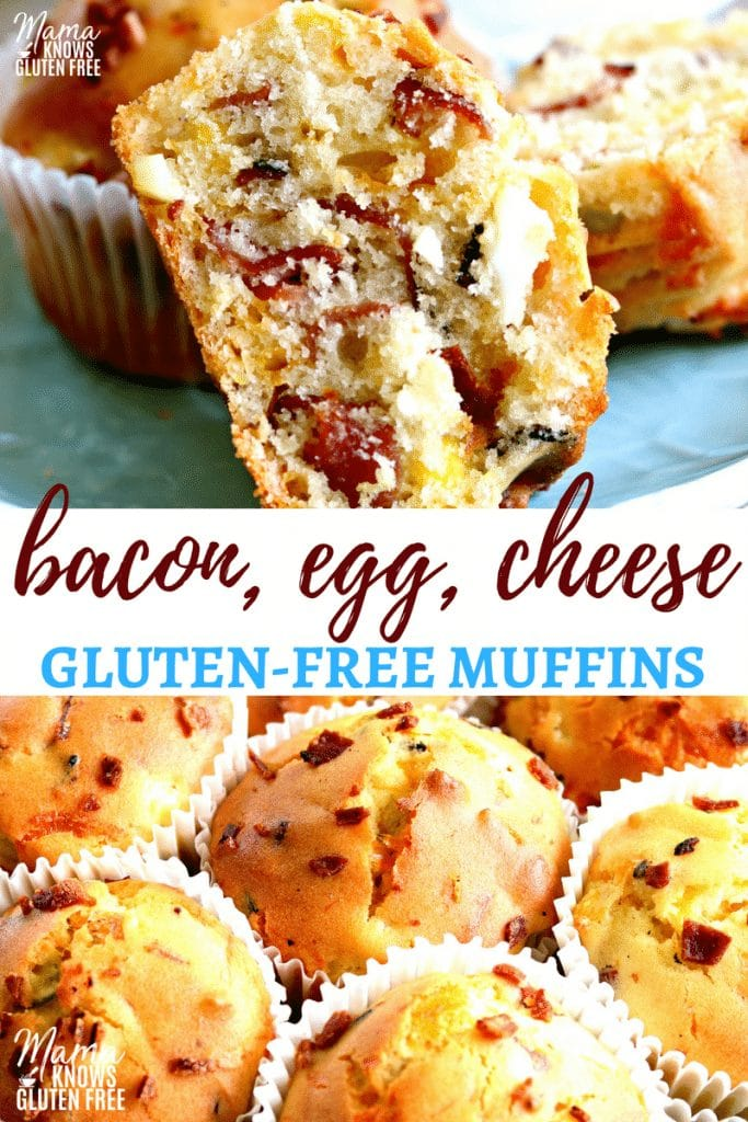 Gluten-Free Bacon, Egg and Cheese Muffins
