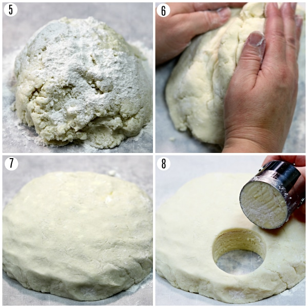 gluten-free biscuits recipe steps 5-8