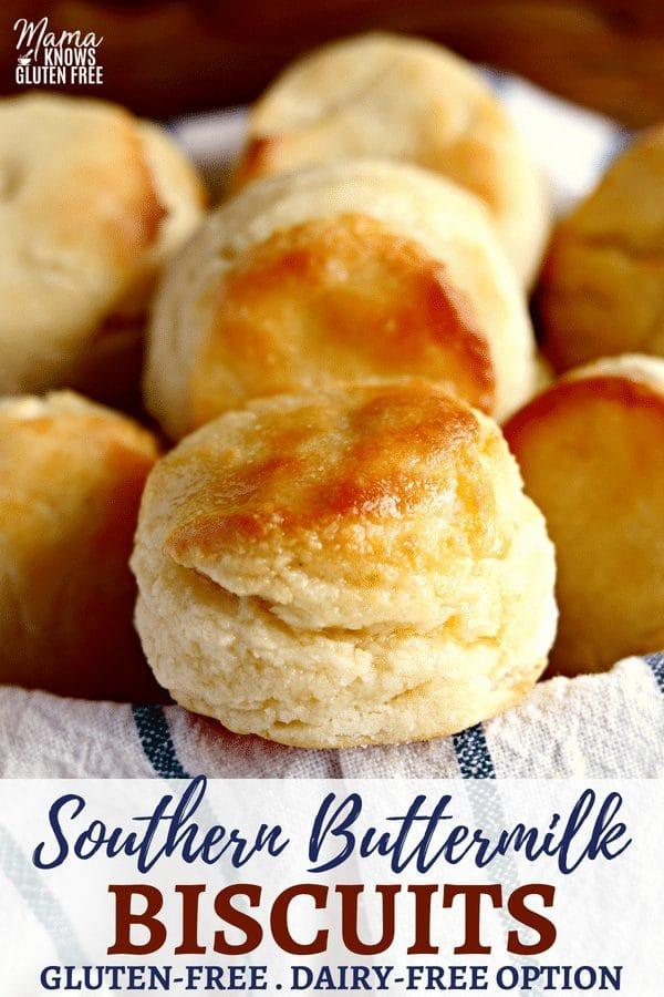 Gluten-Free Biscuits Pinterest pin