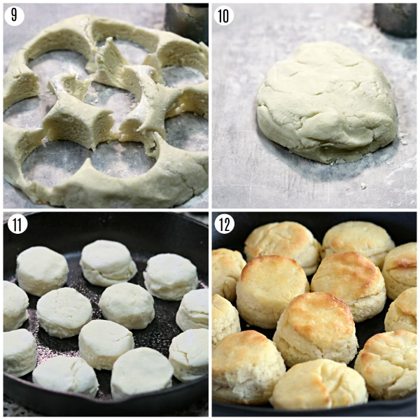 gluten-free biscuits recipe steps 9-12