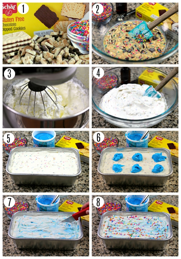 Birthday No-Church Ice Cream Recipe Steps